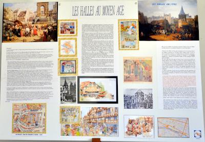 Les Halles au Moyen Âge