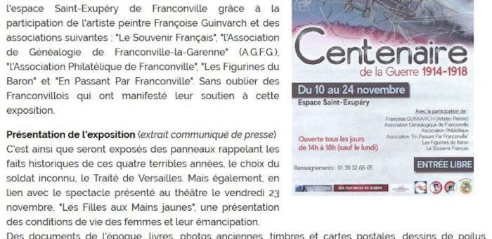 Le Journal de François, octobre 2018