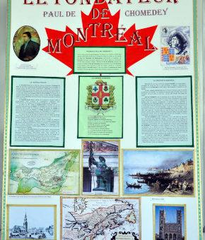 Le fondateur de Montréal, Paul de Chomedey