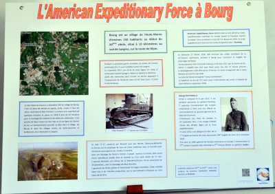 L'American Expeditionary Force à Bourg