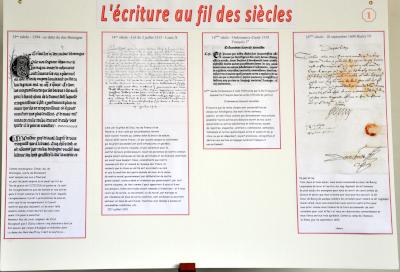L'écriture au fil des siècles