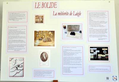 Le Bolide, la météorite de L'Aigle