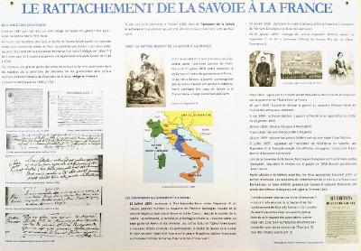 Rattachement de la Savoie à la France