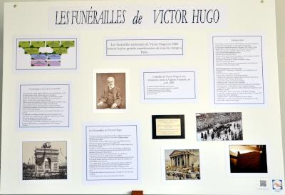 Les funérailles de Victor Hugo