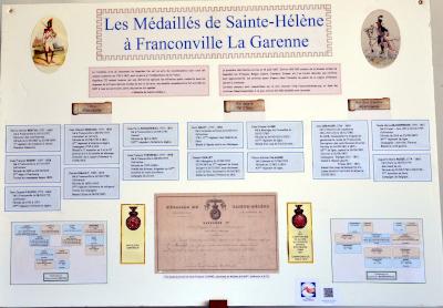 Les médaillés de Sainte-Hélène à Franconville-la-Garenne